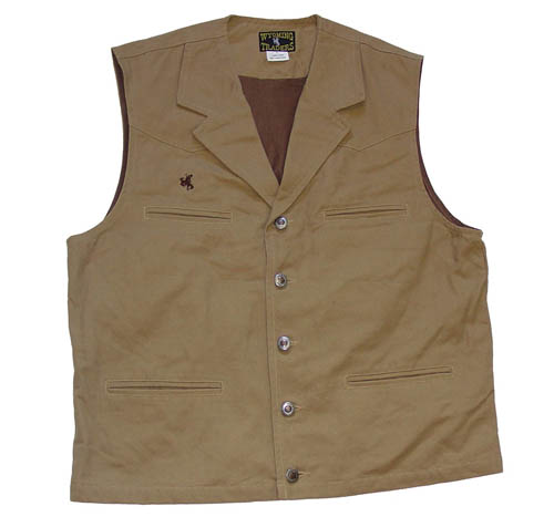 Men's Canvas Vest