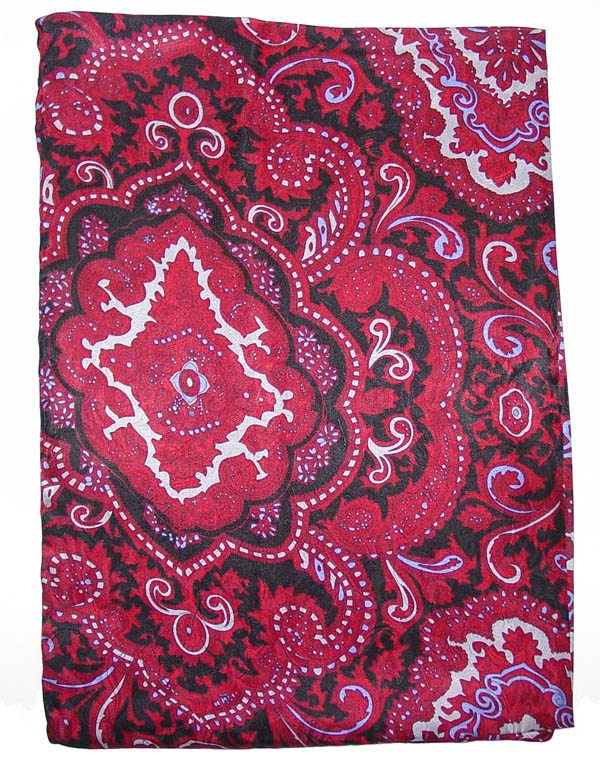 Paisley Red/Black