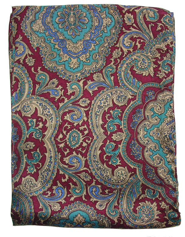 Paisley Red/Gold