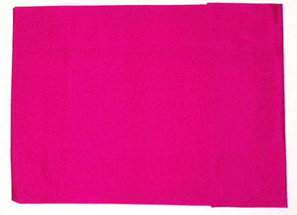 Solid Fuschia Silk Scarf