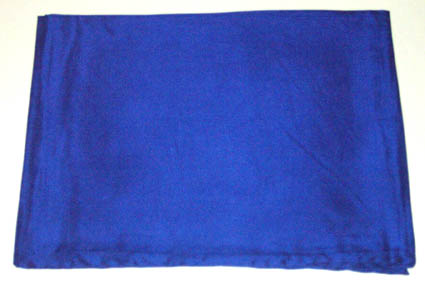 42 Inch Royal Solid Silk Scarf